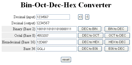 Binary To Octal Converter