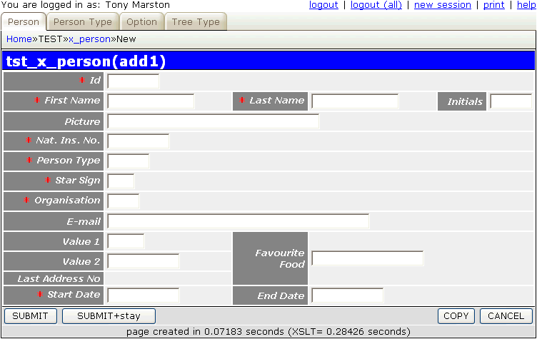 how to allow a field to be empty html php